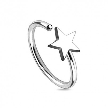 Piercing Nez Anneau étoile
