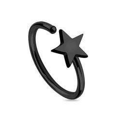 Piercing Nez Blackline Anneau étoile