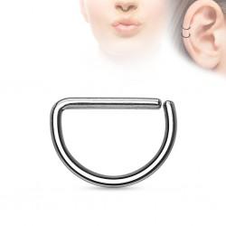 Piercing demi-anneau Acier