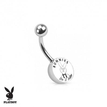 Piercing Nombril logo Playboy® lapin smoking