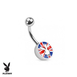 Piercing Nombril logo Playboy® drapeau anglais