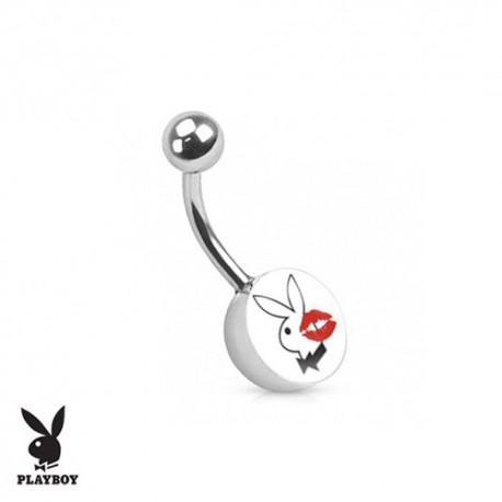 Piercing Nombril logo Playboy® kiss