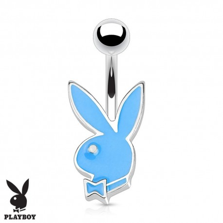 Piercing Nombril Playboy® lapin bleu