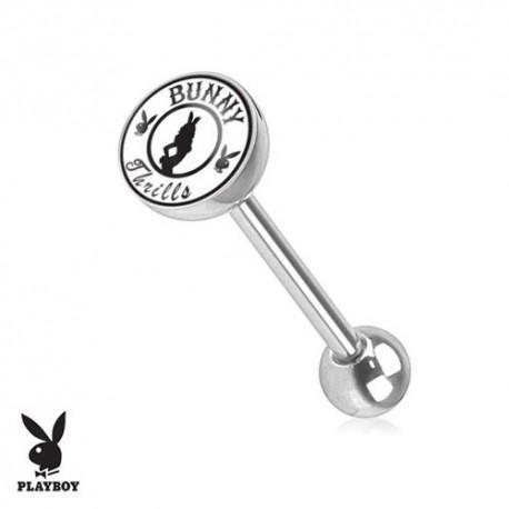 Piercing Langue logo Playboy® playmate