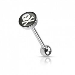 Piercing Langue logo pirate