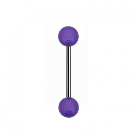 Piercing Langue gloss violet