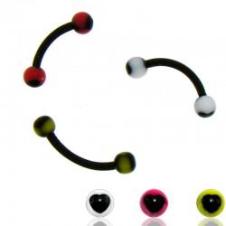 Piercing Arcade Acrylique coeur
