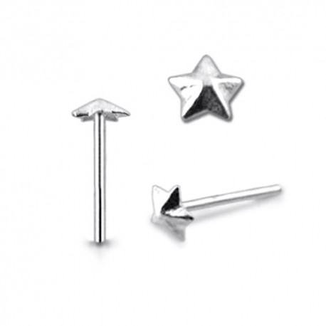 Piercing Nez Argent étoile