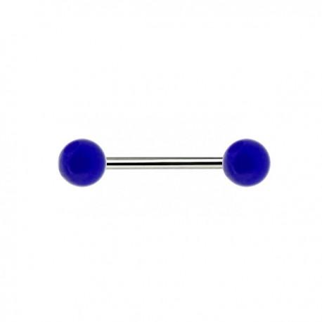 Piercing Téton Acrylique bleu foncé