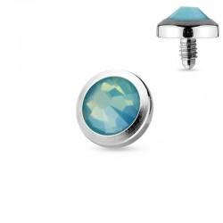 Microdermal Opalite verte