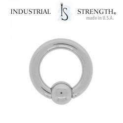 Anneau Titane INDUSTRIAL STRENGTH® - 2,5x9,5mm