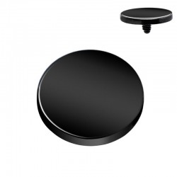 Microdermal disque Blackline 4mm