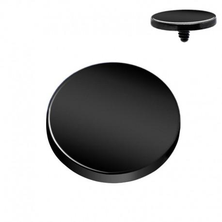 Microdermal disque Blackline 4mm
