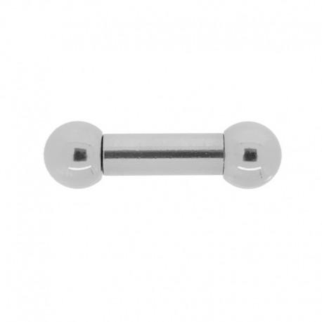 Piercing Sexe homme Barbell Acier - 5x14x8mm
