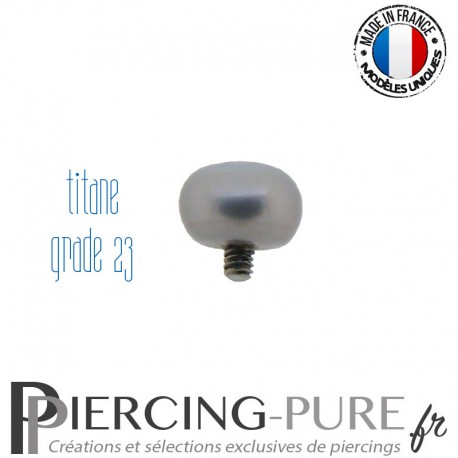 Microdermal Perle naturelle gris claire