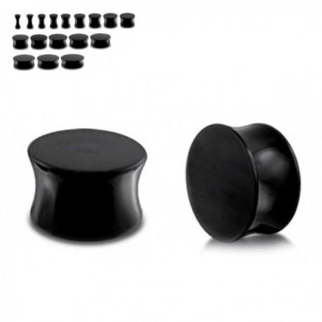 Plug Acrylique noir