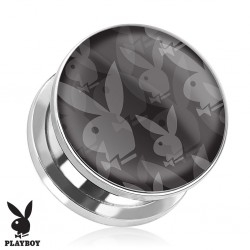 Plug Playboy® Acier logos lapins