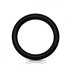 Anneau segment Acier Blackline 1.6mm x 10mm