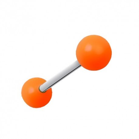 Piercing Langue Titane orange