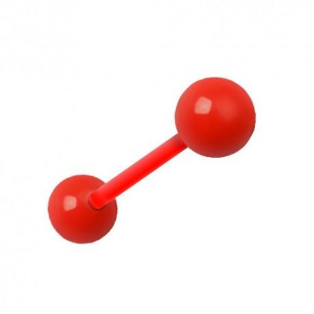 Piercing Téton Grossesse Flexible rouge