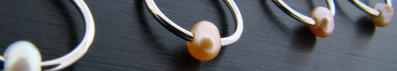piercings perles naturelles