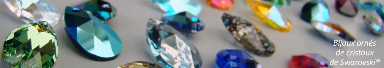 avec cristaux de Swarovski
