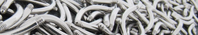 Acheter des piercings pour arcade en acier de qualité