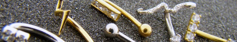 Acheter des piercings arcade en or massif