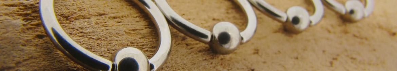 Acheter des anneaux pour piercings intimes