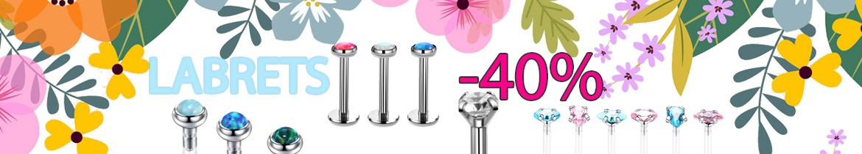 promotion piercing labret