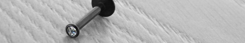 Acheter des piercing labret blackline