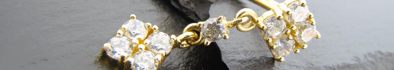 Acheter des piercings de nombril en or massif