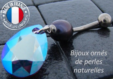 piercings perles de culture