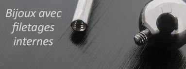Piercing filetage interne